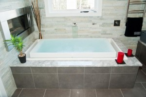 Overflow infinity tub ~ Design Build Planners