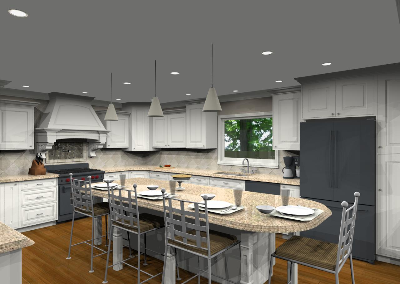 Kitchen Layout Templates 6 Different Designs: Different Island Shapes For Kitchen Designs And Remodeling