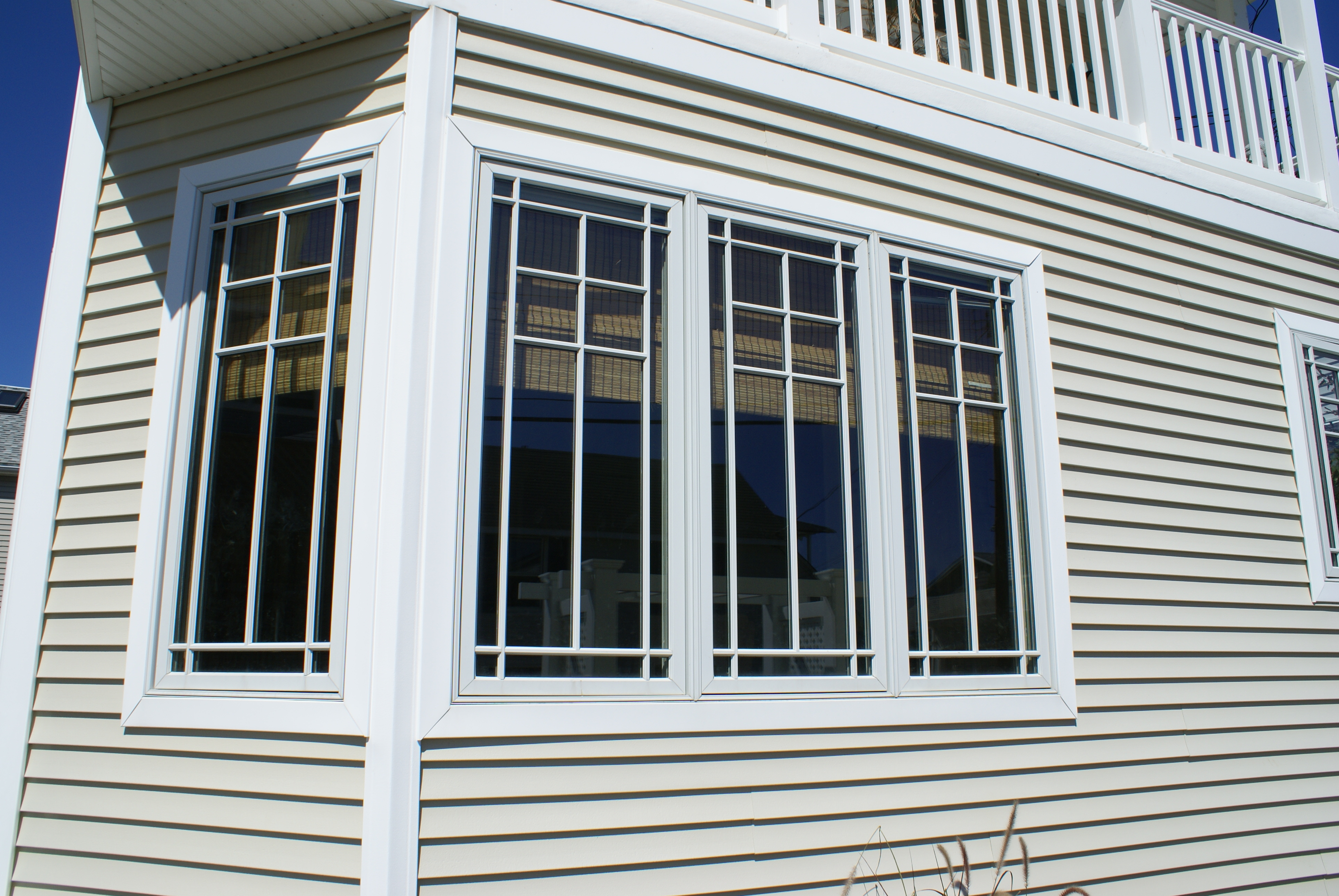 Casement windows for style and function design build for Prairie style window