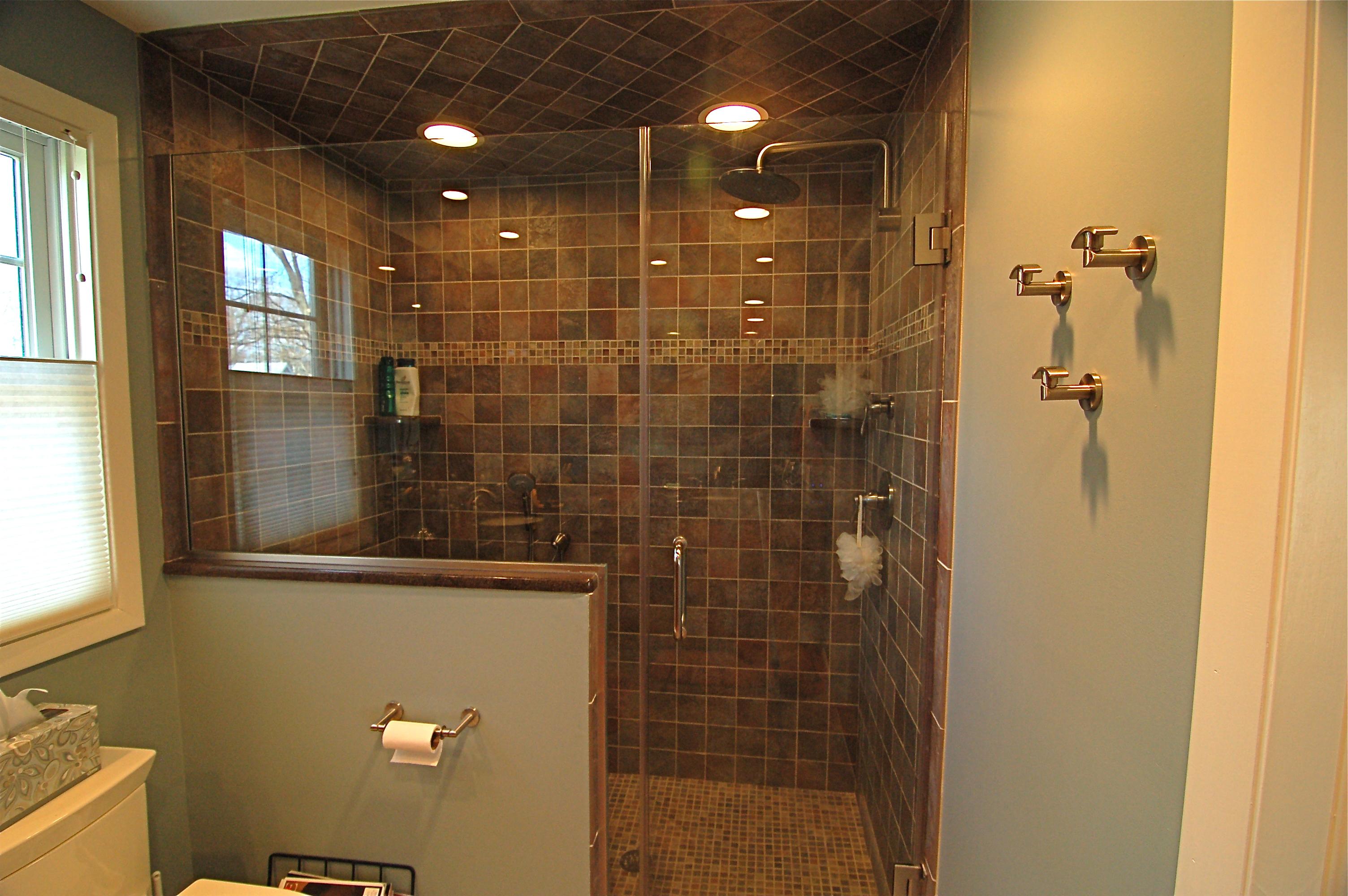 Frameless Shower Door For Bathroom