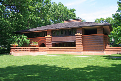 Architectural design around the world and throughout the for Architecture wright