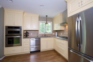 Kitchen remodel with wall removal in Union County, NJ