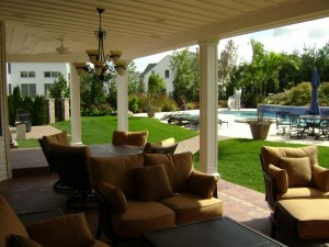 outdoor living space designed and developed by the Design Build Pros (1)