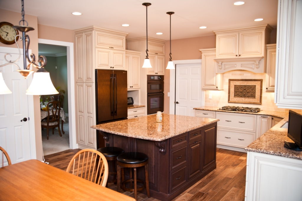 superior Oil Rubbed Bronze Appliances Kitchen #8: remodeled kitchen in Belle Mead New Jersey (5)