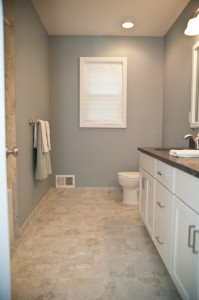 Master Bathroom Remodel With Redesign And Hall Bathroom Makeover
