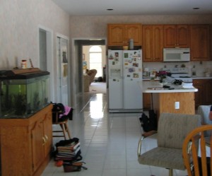 before kitchen remodel in Monmouth County