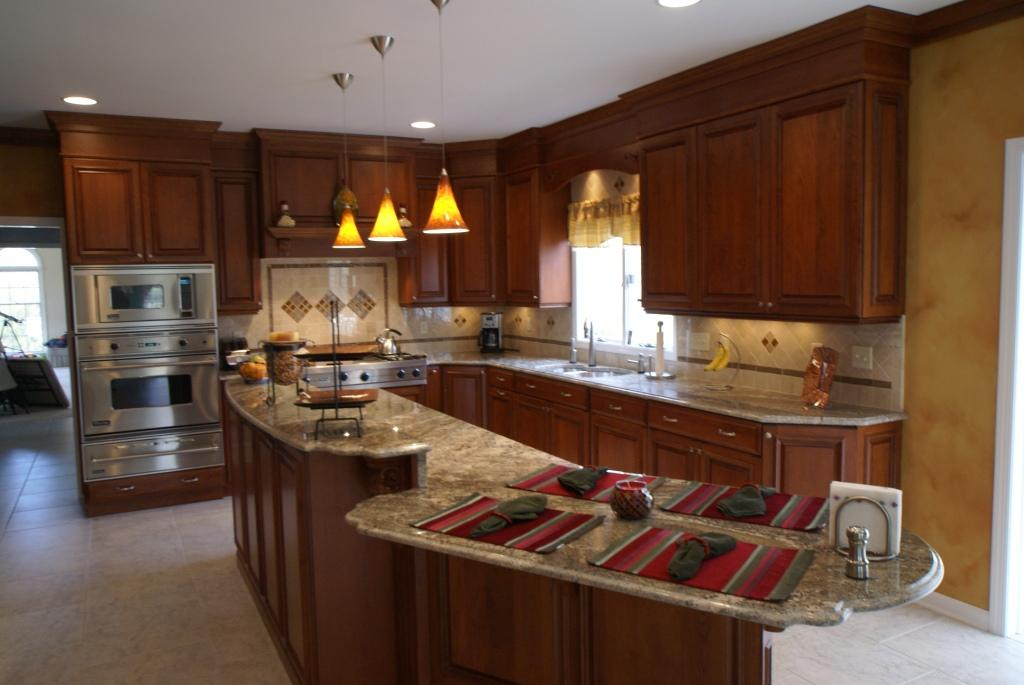Kitchen remodel with custom cabinetry in monmouth county for Custom kitchen remodel