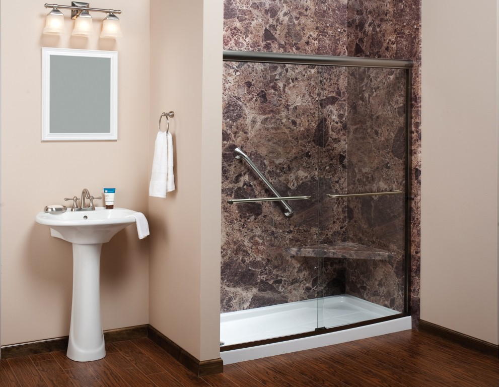 One day bathroom makeovers and remodeling in new jersey for Makeovers for small bathrooms