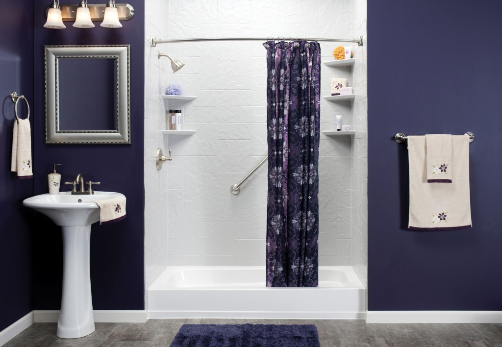 One day bathroom makeovers and remodeling in new jersey for Simple small bathroom designs