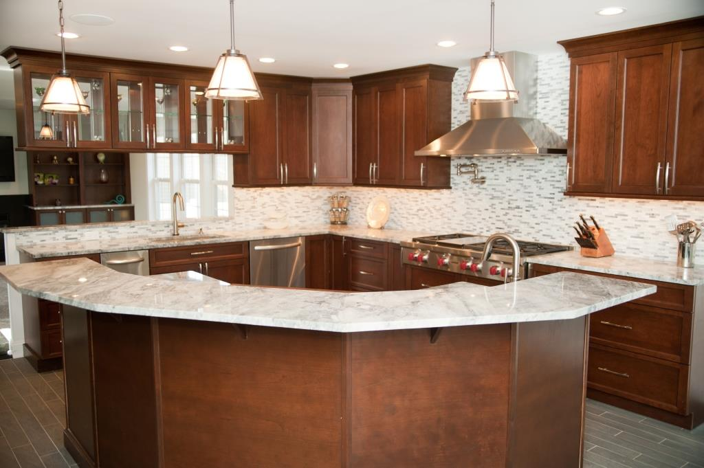 Nj kitchen bathroom design architects design build pros Marble granite kitchen design clifton nj