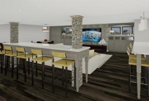 Basement Design Options in Monroe NJ Plan 3 (8)-Design Build Planners
