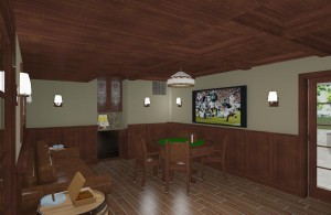 CAD of a Cigar Room in Monmouth County NJ (3)-Design Build Pros
