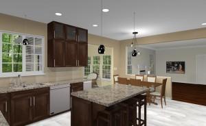 Computer Aided Design Kitchen Remodel (3)