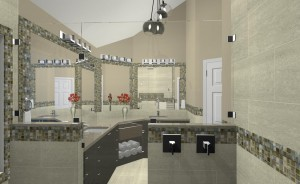 Computer Aided Design for a Bathroom Remodel in NJ (4)