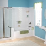 One day bathroom remodeling with tub and shower in Long Island