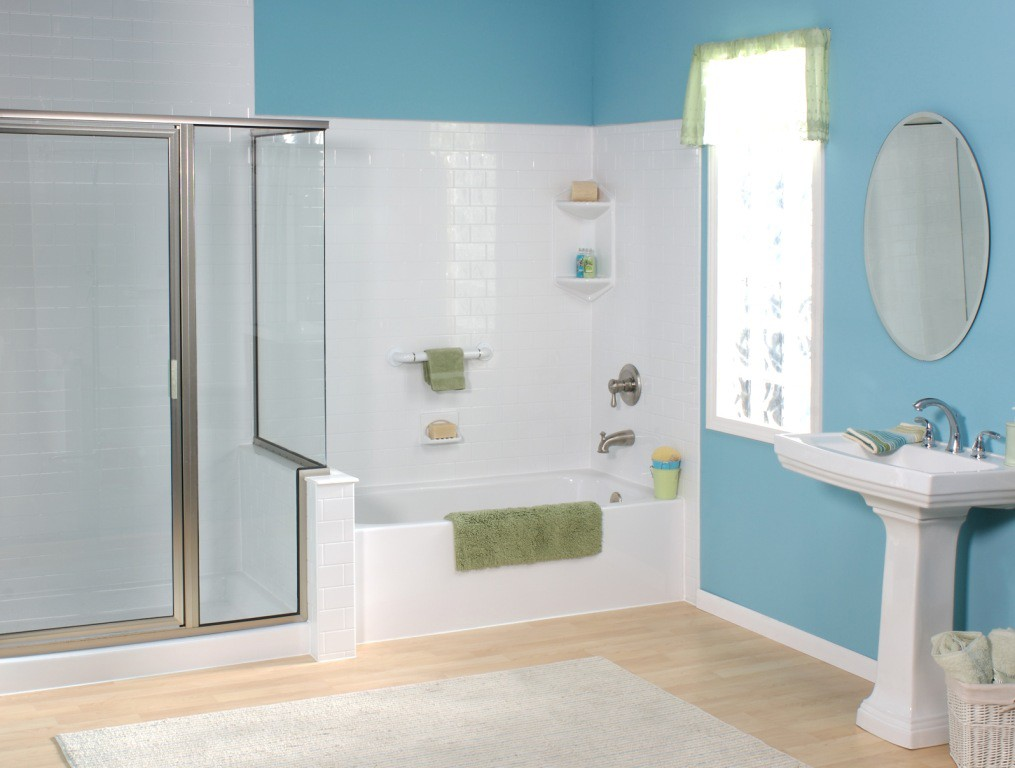 ... One Day Bathroom Remodeling With Tub And Shower In Long Island