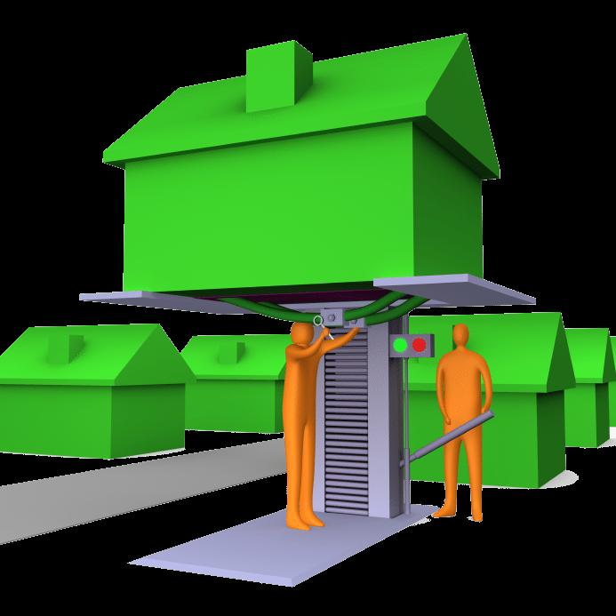 House raising design