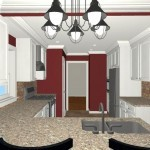 Colonial Home Kitchen Remodel 1c