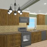 Colonial Home Kitchen Remodel Design 2a