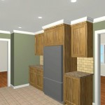 Colonial Home Kitchen Remodel Design 2b