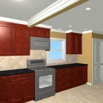 Colonial Home Kitchen Remodel Design 3b