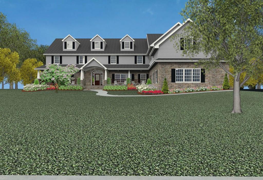 Custom new home construction design in monmouth county new for New home construction designs