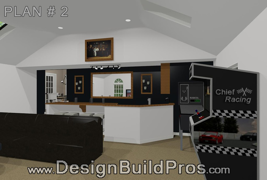 Morris County Kitchen Remodeling And Game Room Construction Proskill