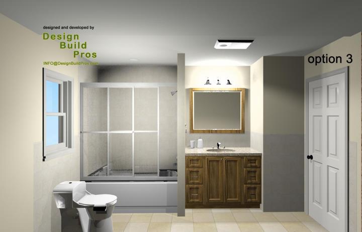 Standard Hall Bathroom Remodeling Design Options Design Build Planners Awesome Bathroom Remodeling Plans