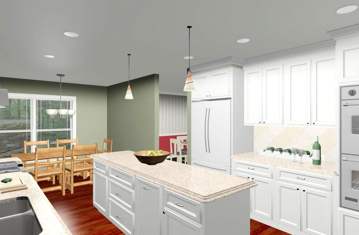 Colonial style home kitchen remodeling design options and prices Kitchen design colonial home
