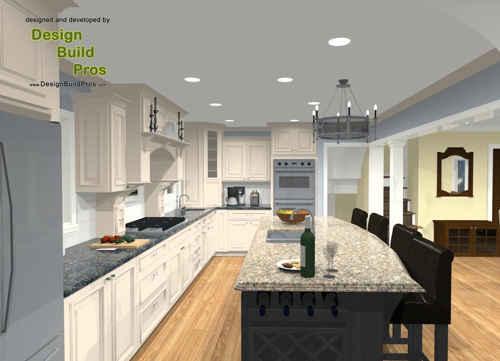 Gourmet kitchen remodeling contractor in oceanport for Gourmet kitchen designs
