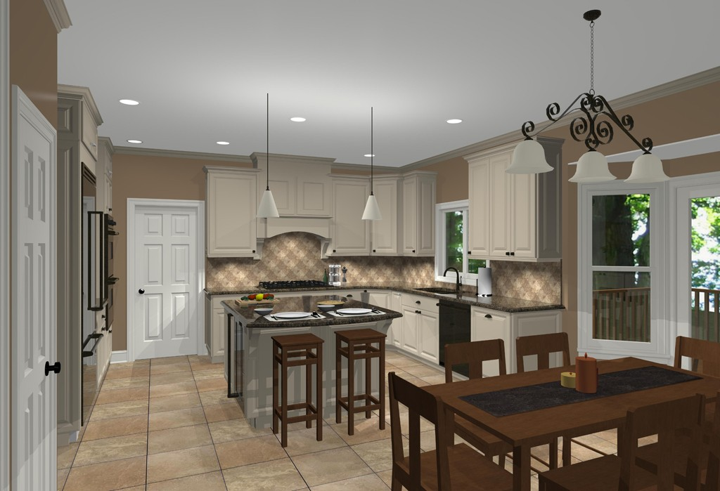 Designs Remodeling: CAD Views Of Kitchen Design Ideas For Remodeling