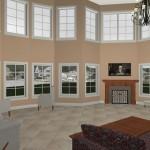 Living Room for a Shore Home Idea