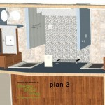 Master Bathroom Remodel Plan 3B