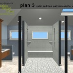 Master Bathroom Remodel Plan 3C