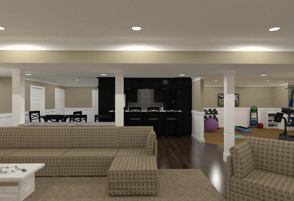 Monmouth County Basement Remodeling   Design Build Pros New Jersey