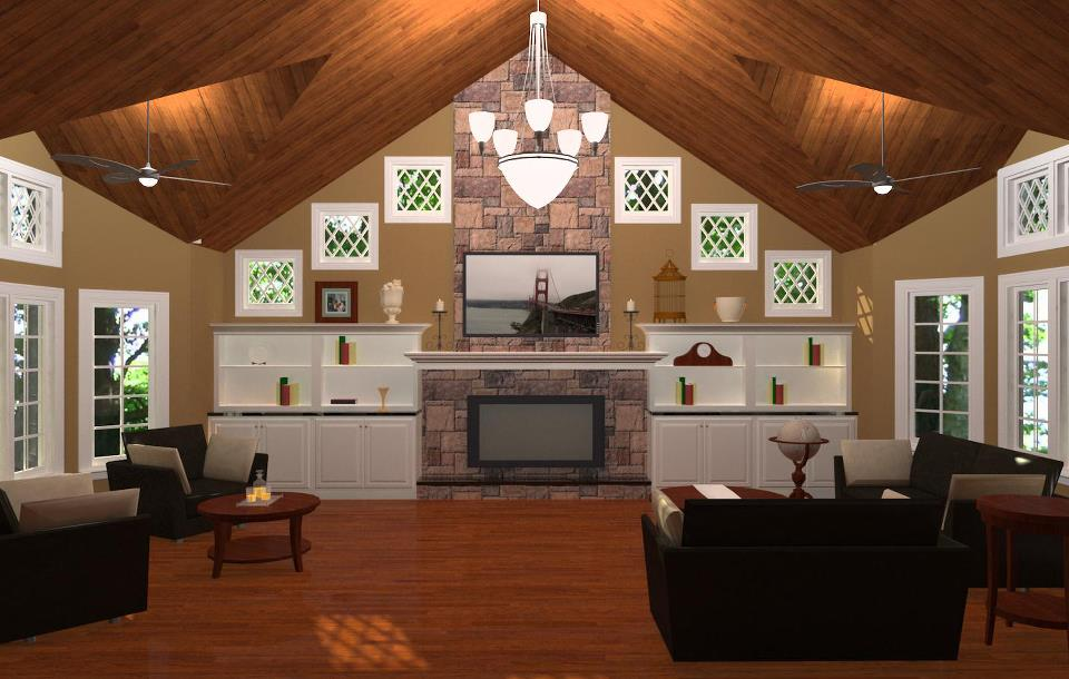 How to budget for your monmouth county family room for Room addition plans