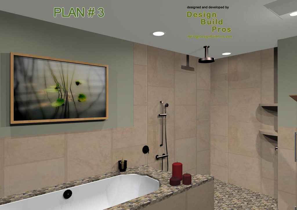 Bathroom remodeling and expansion nj zen and spa for Master bathroom expansion
