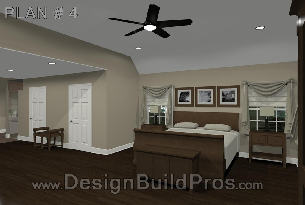 Maryland Master Bedroom And Bathroom Remodeling Design