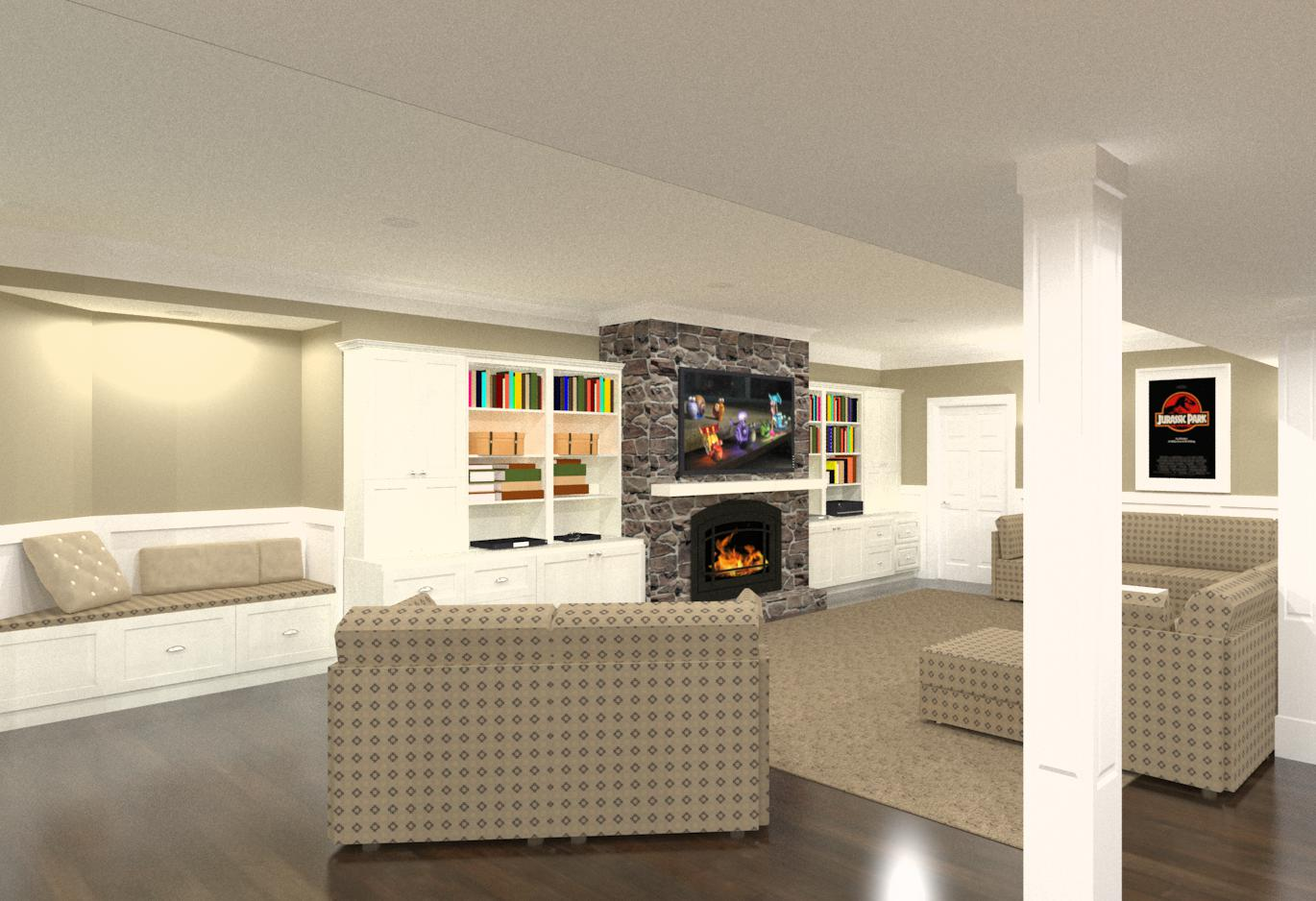 Designs Remodeling: Basement Finishing And Remodeling Designs In Morris County