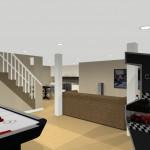 basement remodeling design plan 3 (4)
