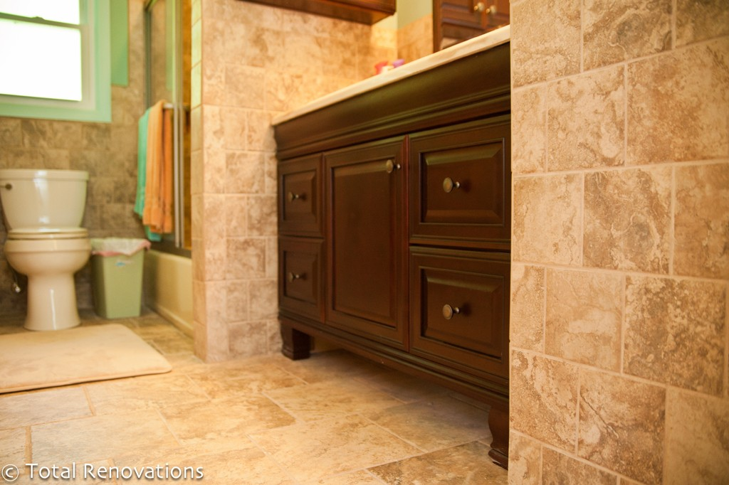 Bathroom and kitchen remodeling for a bi level home Bi level house remodel