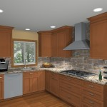computer aided design of planned kitchen remodel (2)
