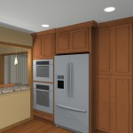 computer aided design of planned kitchen remodel (3)