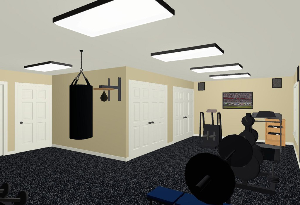 Exercise Routine for a Home Gym - Design Build Planners