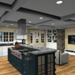 kitchen design with open floor plan to family room Eatontown, nj 07724 (1)