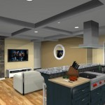 kitchen design with open floor plan to family room Eatontown, nj 07724 (5)