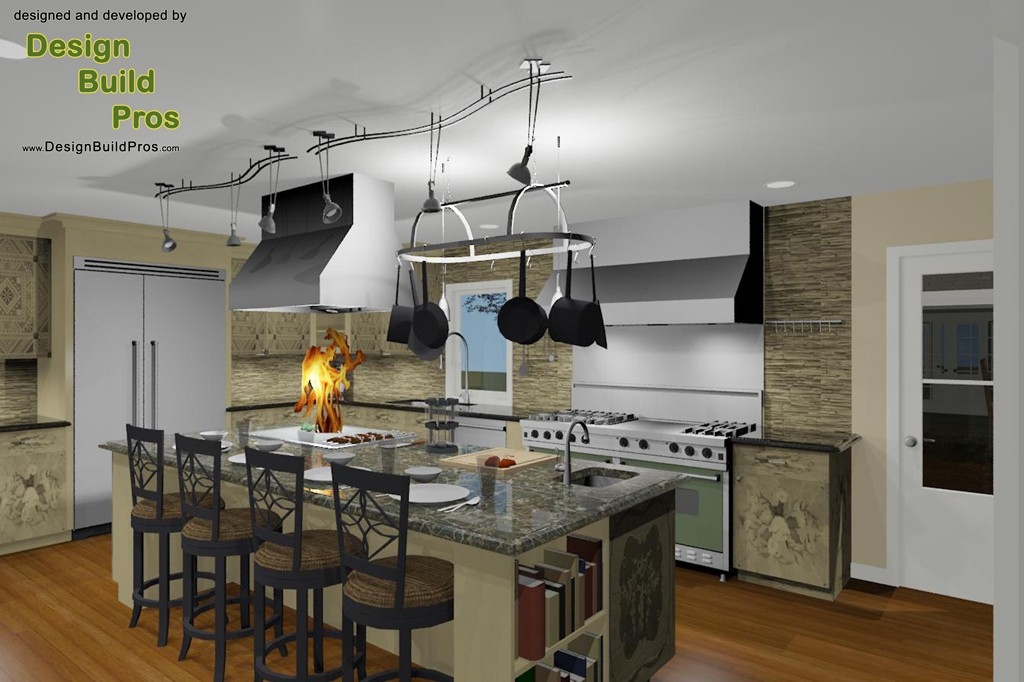 Gourmet kitchen remodeling contractor in oceanport Gourmet kitchen plans