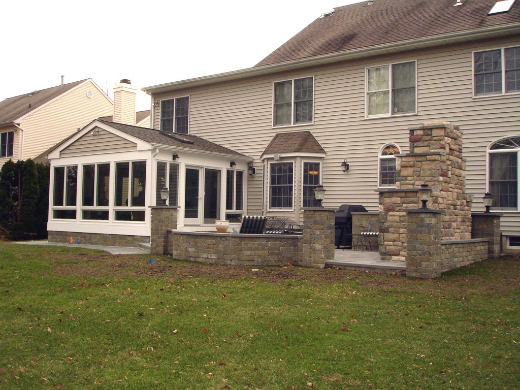Sunroom and patio design in monmouth county for Building a four season room