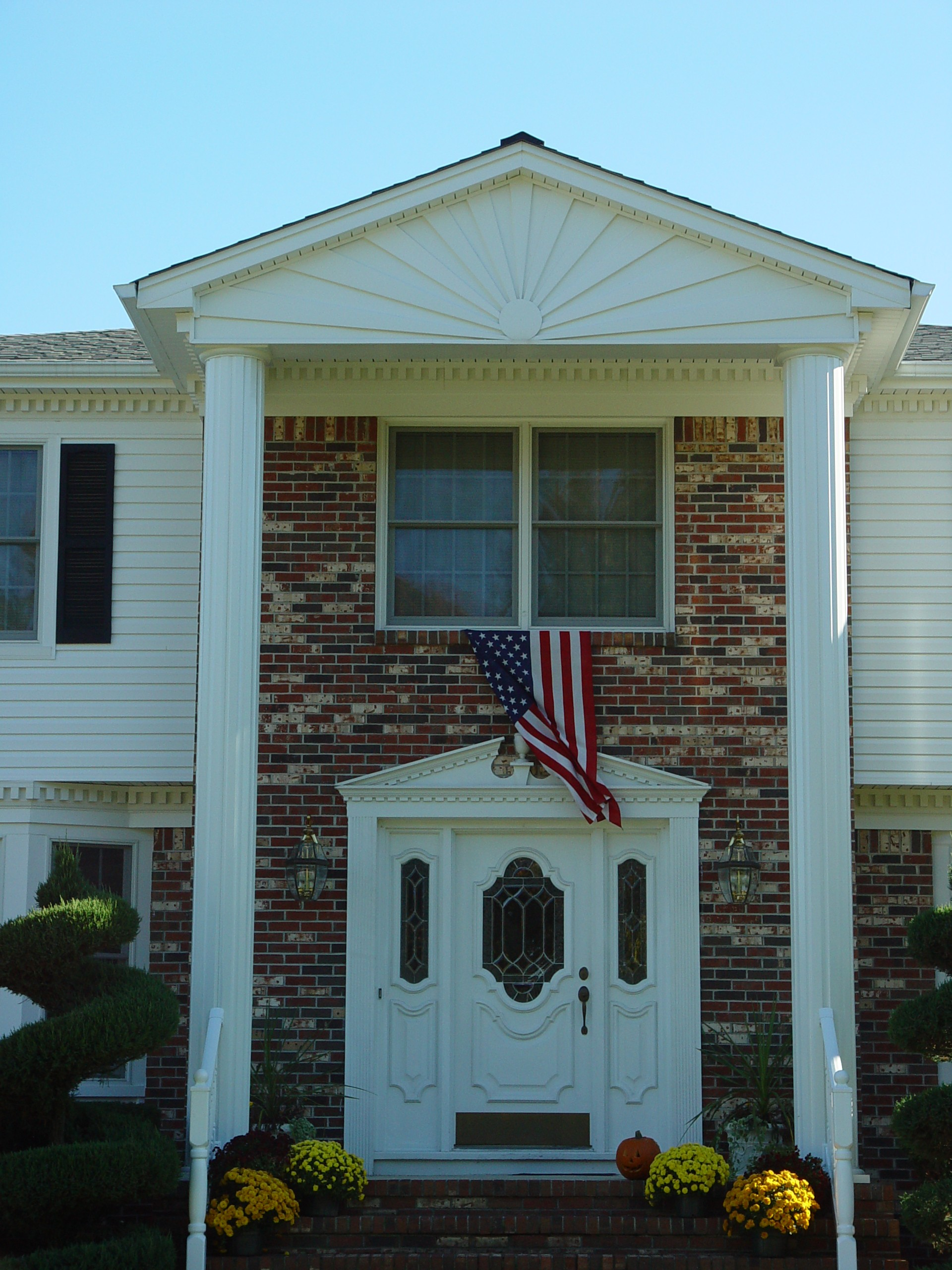 Front Entry Portico Remodeling Projects in New Jersey - Design Build ...
