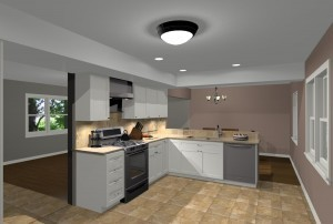 Basic kitchen design build remodeling for Basic kitchen remodel ideas